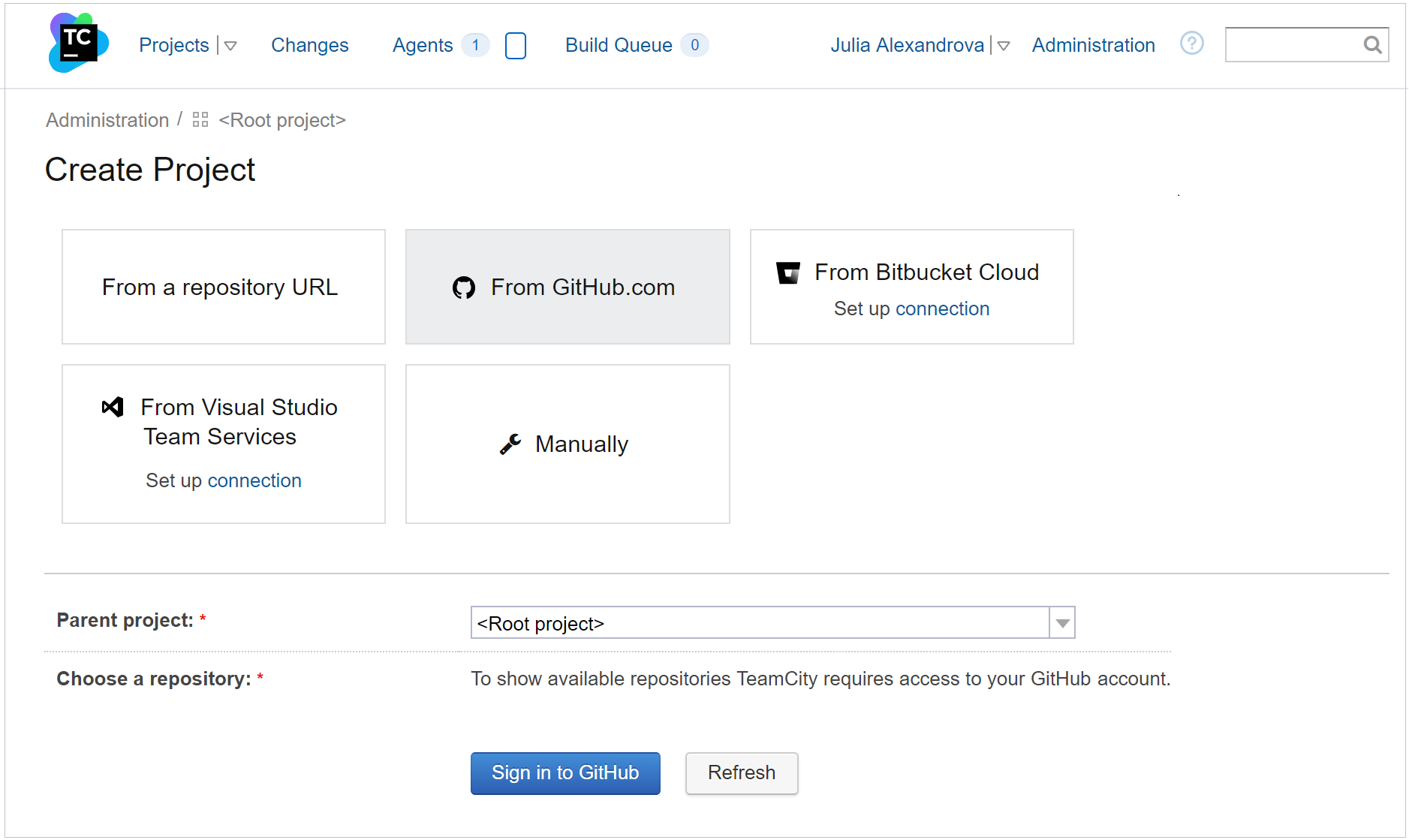 Sign in to GitHub