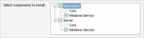 TeamCity server and agent as Windows services