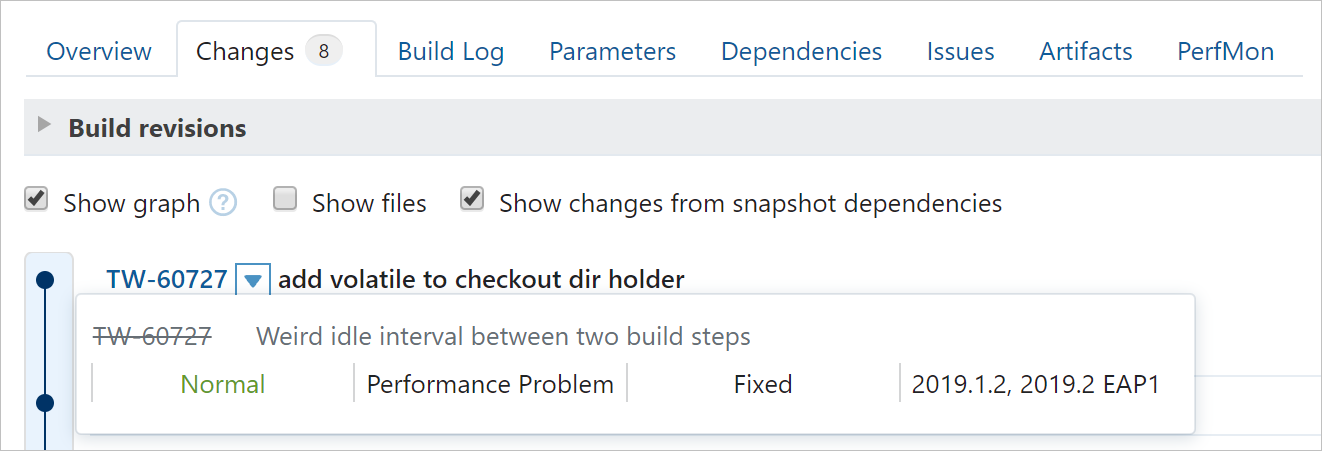 Issue tracker integration