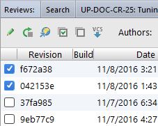 ide select revisions