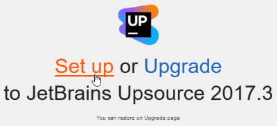 upsource_setup_select