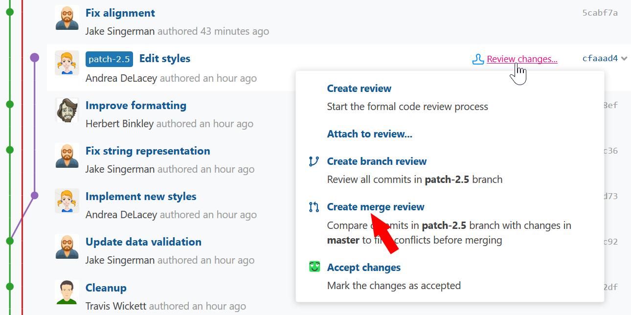 create-merge-review