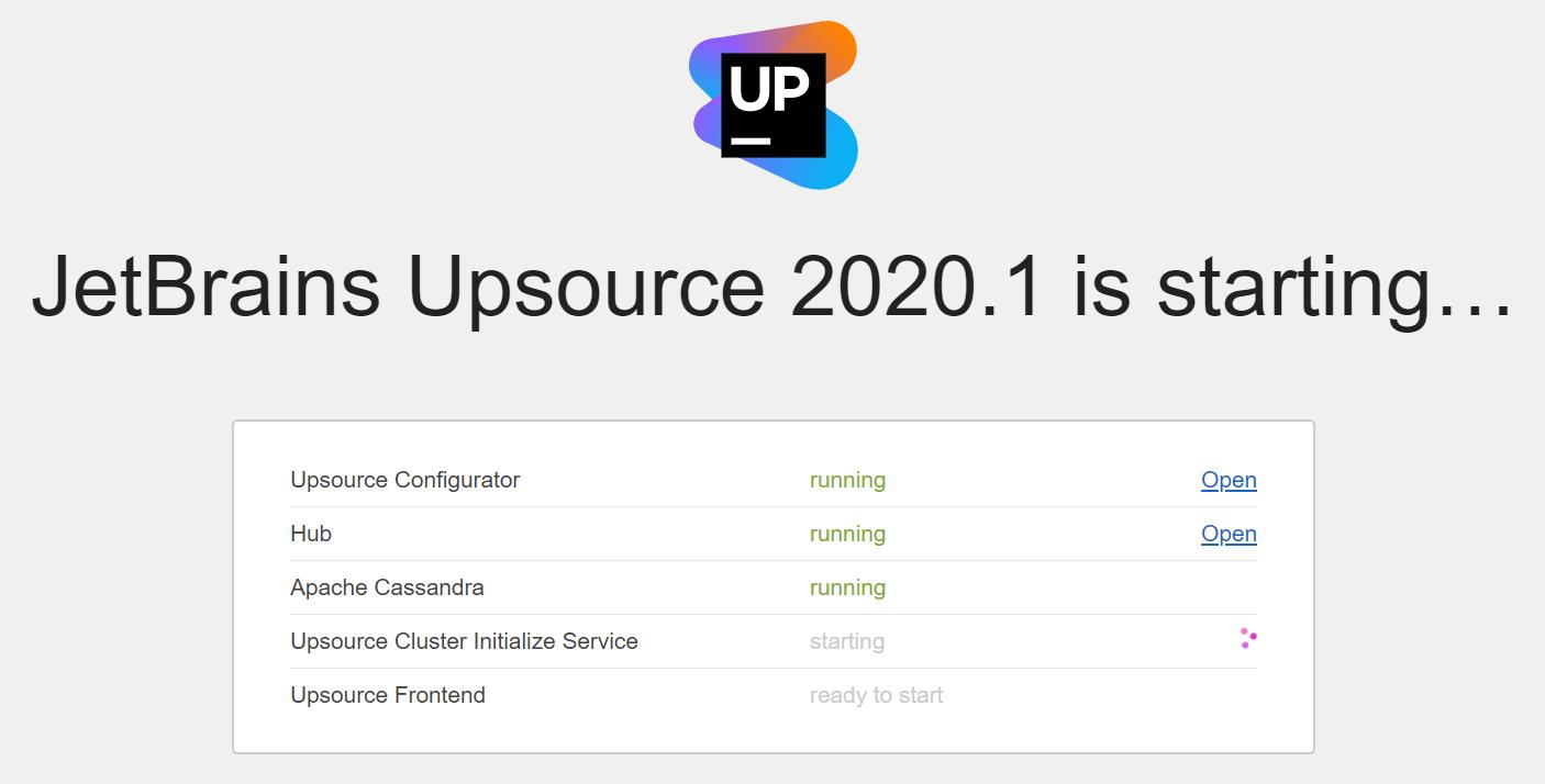 upsource_starting