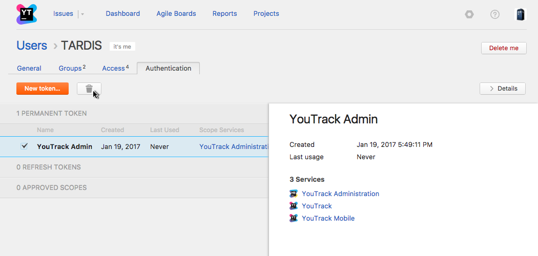 YouTrack  Home page