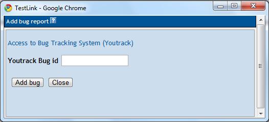 add bug window