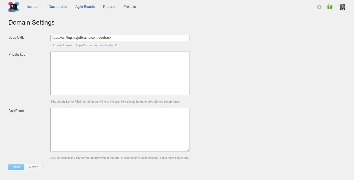 Domain settings help youtrack incloud domainsettings thumbnail xflitez Gallery