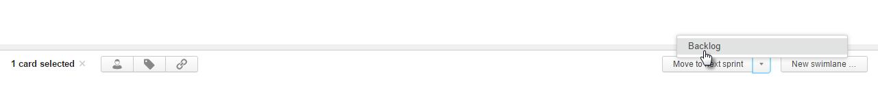 scrum tutorial send to backlog