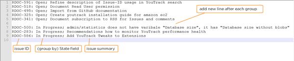 youtrack tweaks shortcut