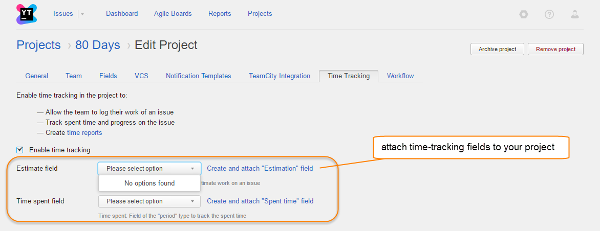 auto attach fields