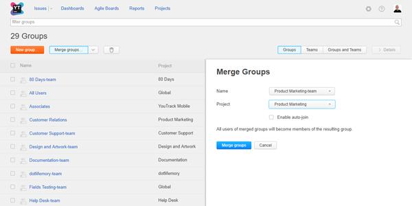 merge groups