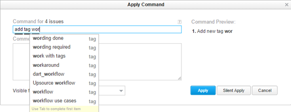 Add tag command