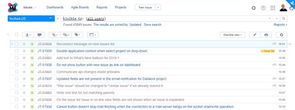 enable experimental UI on Issues list