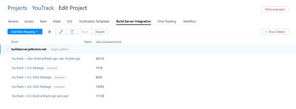 build server integration