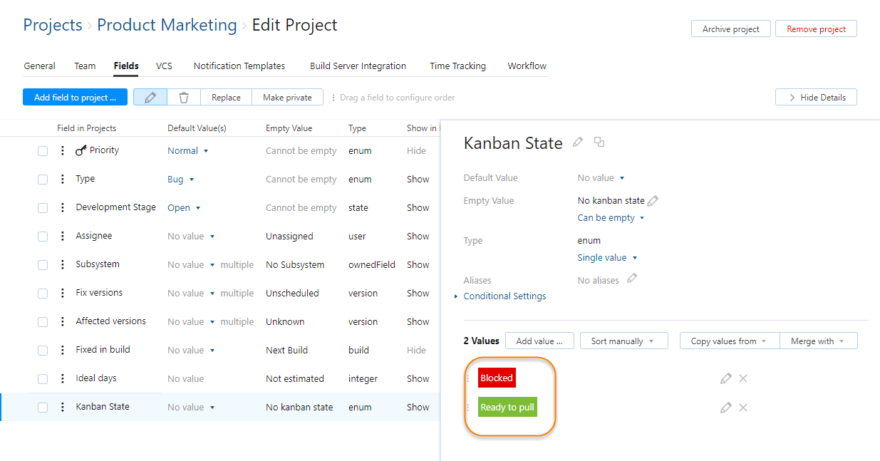Kanban Boards - Help | YouTrack InCloud