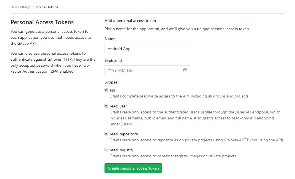 GitLab Integration - Help | YouTrack InCloud