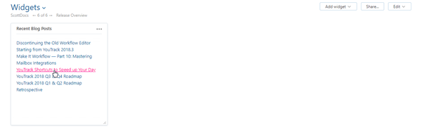 Markdown Notes widget saved
