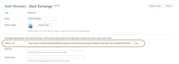 OAuth 2.0 Redirect URI