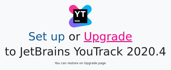 Yt upgrade config wizard start