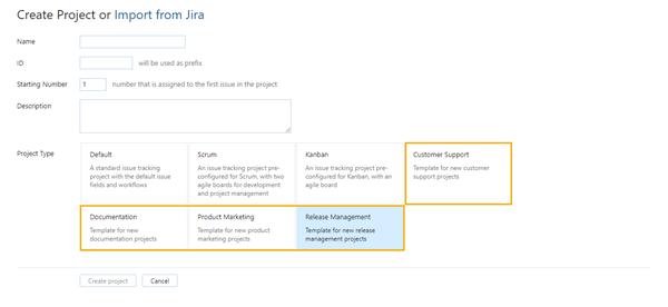 custom project templates