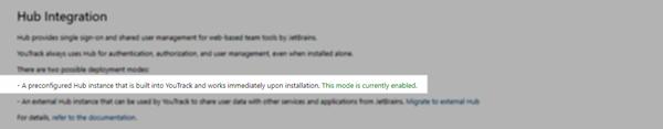 Hub integration InCloud