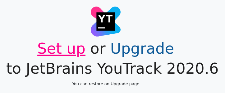 Install YouTrack MSI: Configuration wizard