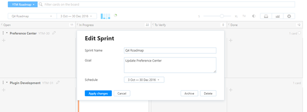 Epics edit sprint