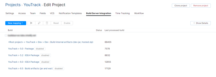 build server integration