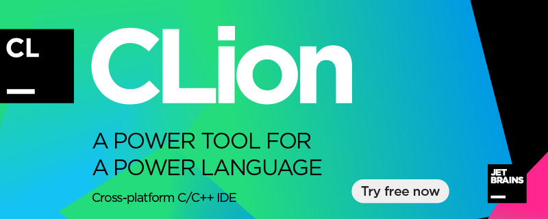 CLion: A power tool for a power language