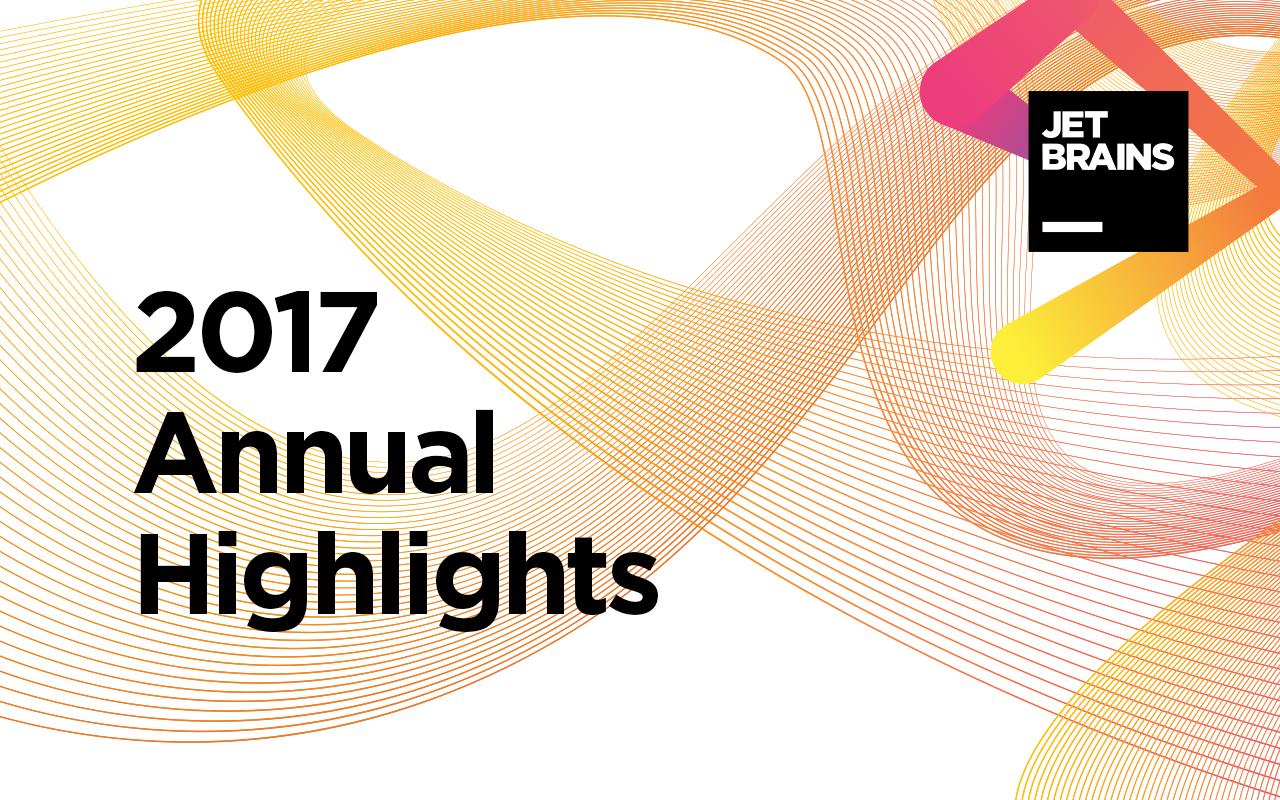 Annual Report 2017 - JetBrains