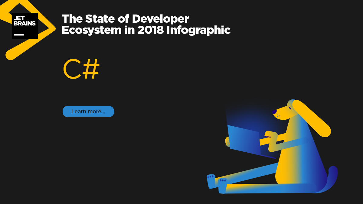 C# in 2018 - The State of Developer Ecosystem by JetBrains
