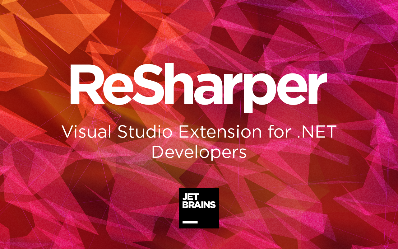 Download ReSharper: Visual Studio Extension for  NET Devs